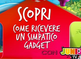 Junior TV: in omaggio un fantastico gadget