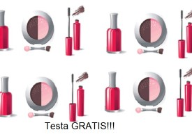 Testa un set completo di make up gratis!