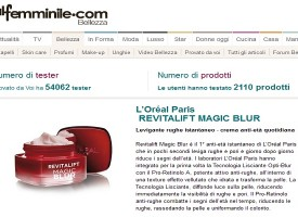 Prova gratis la crema Revitalift Magic Blur di L'Oréal