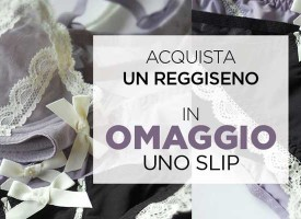 Uno slip Golden Point in omaggio per te