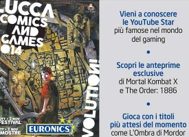 Euronics al Lucca Comics and Games 2014
