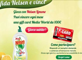 Vinci una gift card Media World da 100 euro con Nelsen