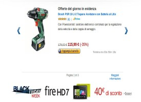 Black Friday Amazon: offerte last minute per i regali di Natale