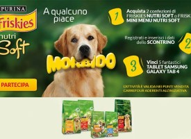 Acquista Friskies e prova a vincere un tablet Samsung