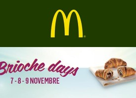 Brioche in regalo da McDonald's