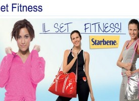 Set per il fitness in regalo con Starbene