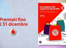 Vodafone ti regala un coupon da OVS