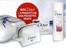 Beauty Box DOVE gratis su Unilever Shop