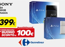 Spendi&Riprendi Carrefour: 100 Euro di buono sconto per la Playstation 4!