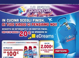 Buoni sconto eDreams da 20 euro con Finish