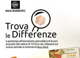 Trova le Differenze e vinci buono sconto da 10 Euro su Buy-me!