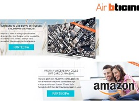 Vinci buoni Amazon con Air BTicino