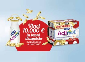Actimel ti regala i ticket compliments