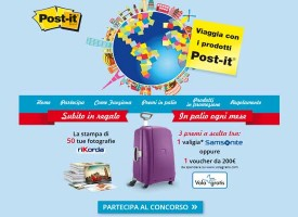 Viaggia con i prodotti Post-it