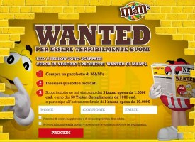 M&M's Wanted 2015