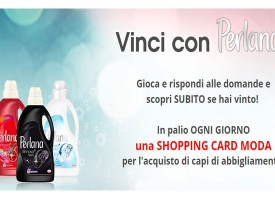 Vinci una shopping card con Perlana