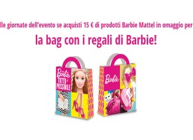 Ricevi la bag con i regali di Barbie