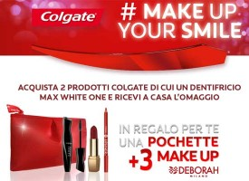 Colgate ti regala il make up Deborah