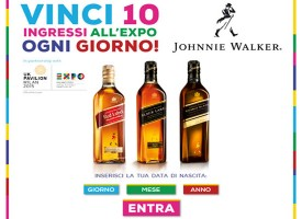 Johnnie walker ti regala Expo 2015