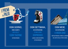 Vinci un week-end con Lavazza