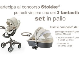 Stokke ti regala passeggini, navicelle e summer kit