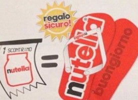 Nutella ti regala le infradito per l'estate