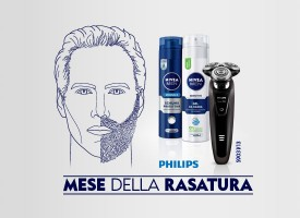 Nivea man ti regala un rasoio Philips