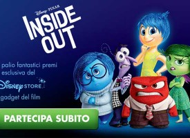 "Vinci i fantastici gadget del nuovo film Disney Pixar ""Inside Out"""