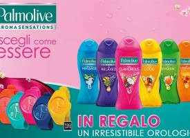 L'orologio dell'estate in regalo da Palmolive