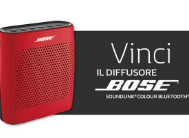 Scopri come vincere un Diffusore Bose SoundLink Colour Bluetooth