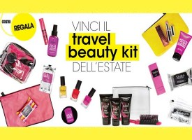 Vinci il travel beauty kit dell'estate con Cosmopolitan