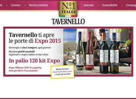 Vinci un kit EXPO con Tavernello