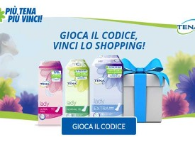 Vinci buoni Amazon e Ticket Compliments con Tena Lady