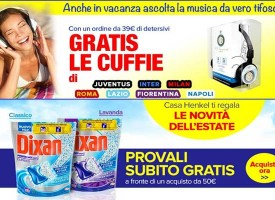 Casa Henkel ti regala Dixan Power Mix e le cuffie dell'estate