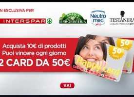 Vinci una card Interspar da 50 euro