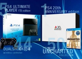 Vinci una Console PS4 20th Anniversary edition con Sony