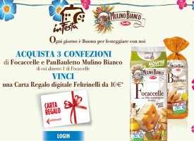 Esselunga e Mulino Bianco ti regala la carta regalo La Feltrinelli