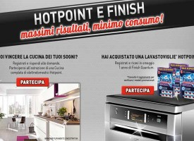 Finish: forniture annuali e una cucina Lube in palio