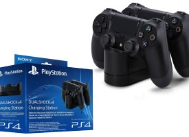 Offerta Amazon: Base ricarica dualshock 4