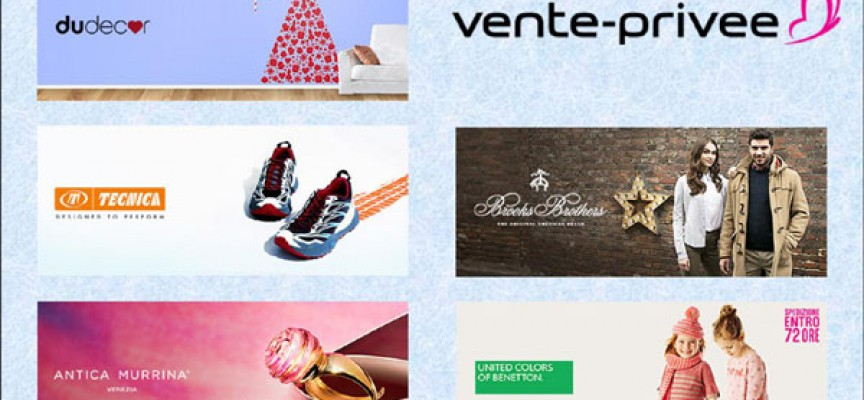 Scopri su vente-privee le nuove vendite-evento di Benetton, Tecnica, Antica Murrina, Brooks Brothers e DuDecor