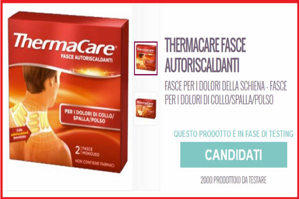 tester AlFemminile ThermaCare
