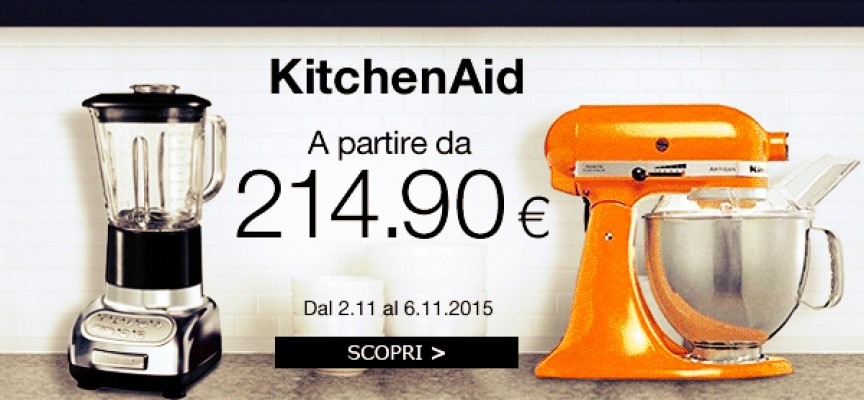 Acquista il top: su Amazon BuyVIP è tempo di KitchenAid!