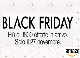 Preparati alle offerte del Black Friday Amazon