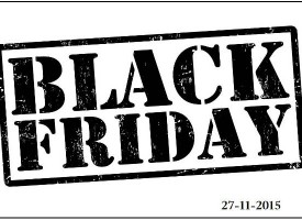 Risparmia con il Black Friday del 27/11/2015
