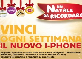 Regalati un iPhone 6 con Pedigree, Whiskas, Catisfactions e Sheba