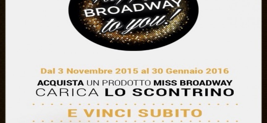 Happy Broadway to you