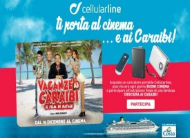 Cellularline ti manda al cinema ed in crociera
