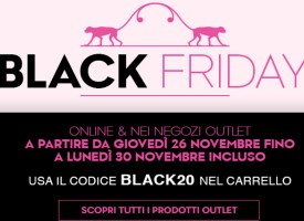 Black Friday? Acquista Kipling: per te -20% sul prezzo Outlet!