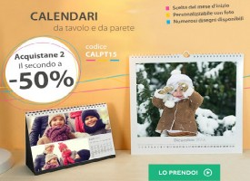 Acquista al 50% il tuo Calendario Fotografico da Magic Foto!