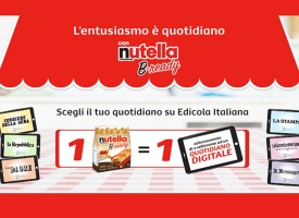 Con Nutella B-Ready l'entusiasmo è quotidiano!